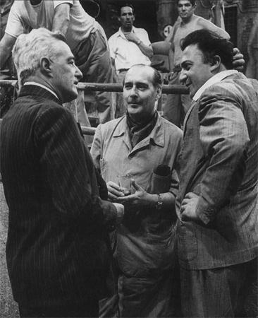 De Sica, Rossellini y Fellini