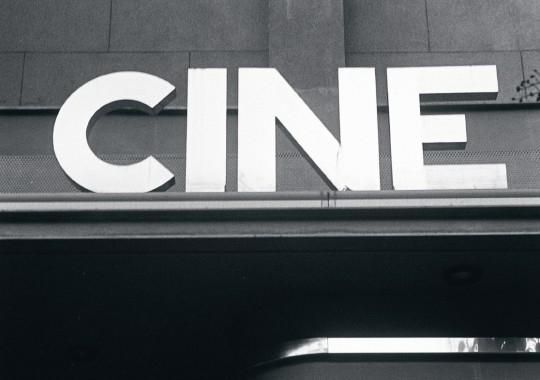 Entrada del Cine Estudio