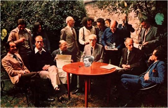 1975, casa de Le Lionnais.