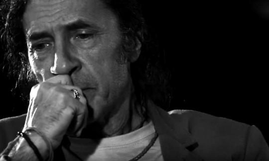 Fotograma de la entrevista a Jorge Pardo
