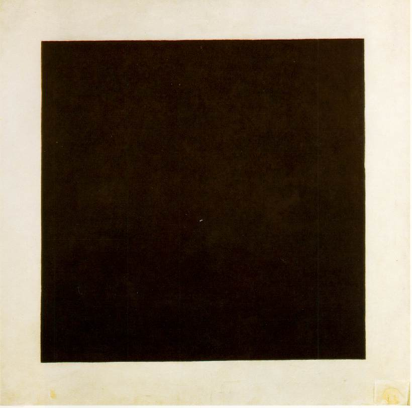 Malevich Cuadrado Negro