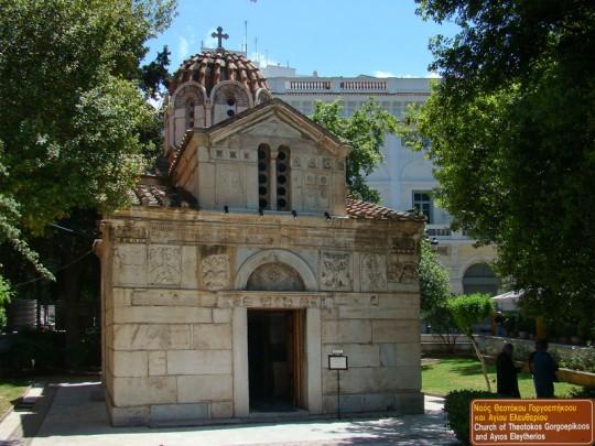 Mikri Mitropoli, la pequeña iglesia metropolitana de Atenas. By _tango7174