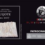 XXI Lectura Continuada del Quijote. Sobran los motivos
