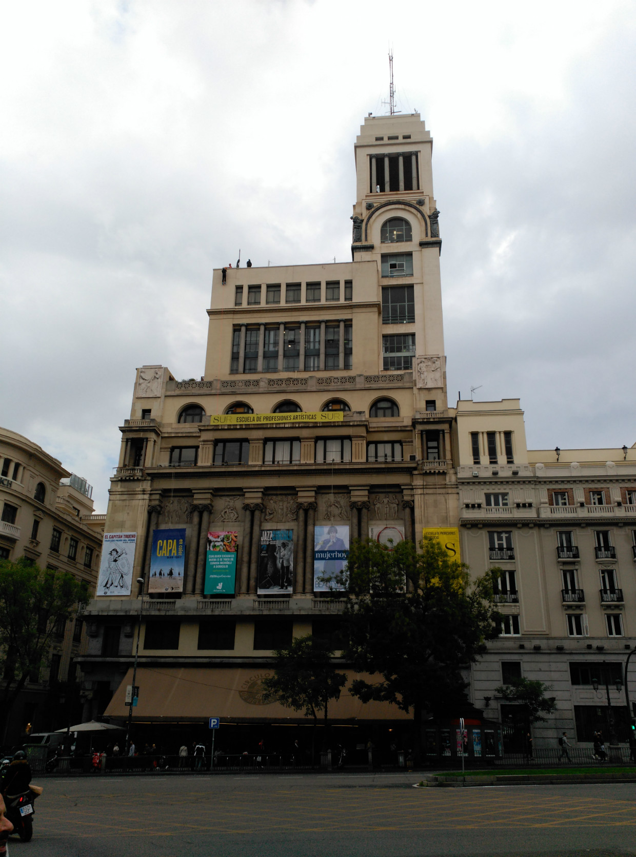El edificio del CBA, una historia escrita en piedra