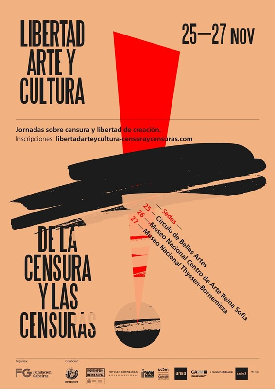 Cartel del Congreso censuras. #censuradxs
