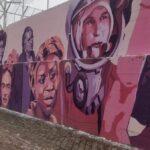 El mural, su mensaje político y los movimientos vecinales