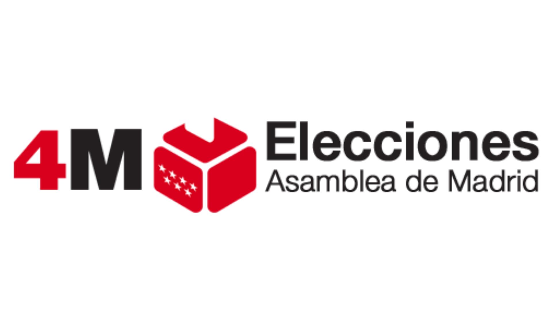 Logo de las Elecciones del 4M en la CAM que ilustra un resumen de Cultura