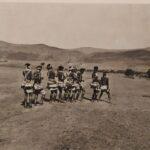 """Las últimas fiestas de la cosecha, ingcubhe, de la tribu Bhaca en la exposición """"Eventos de lo social"""""""