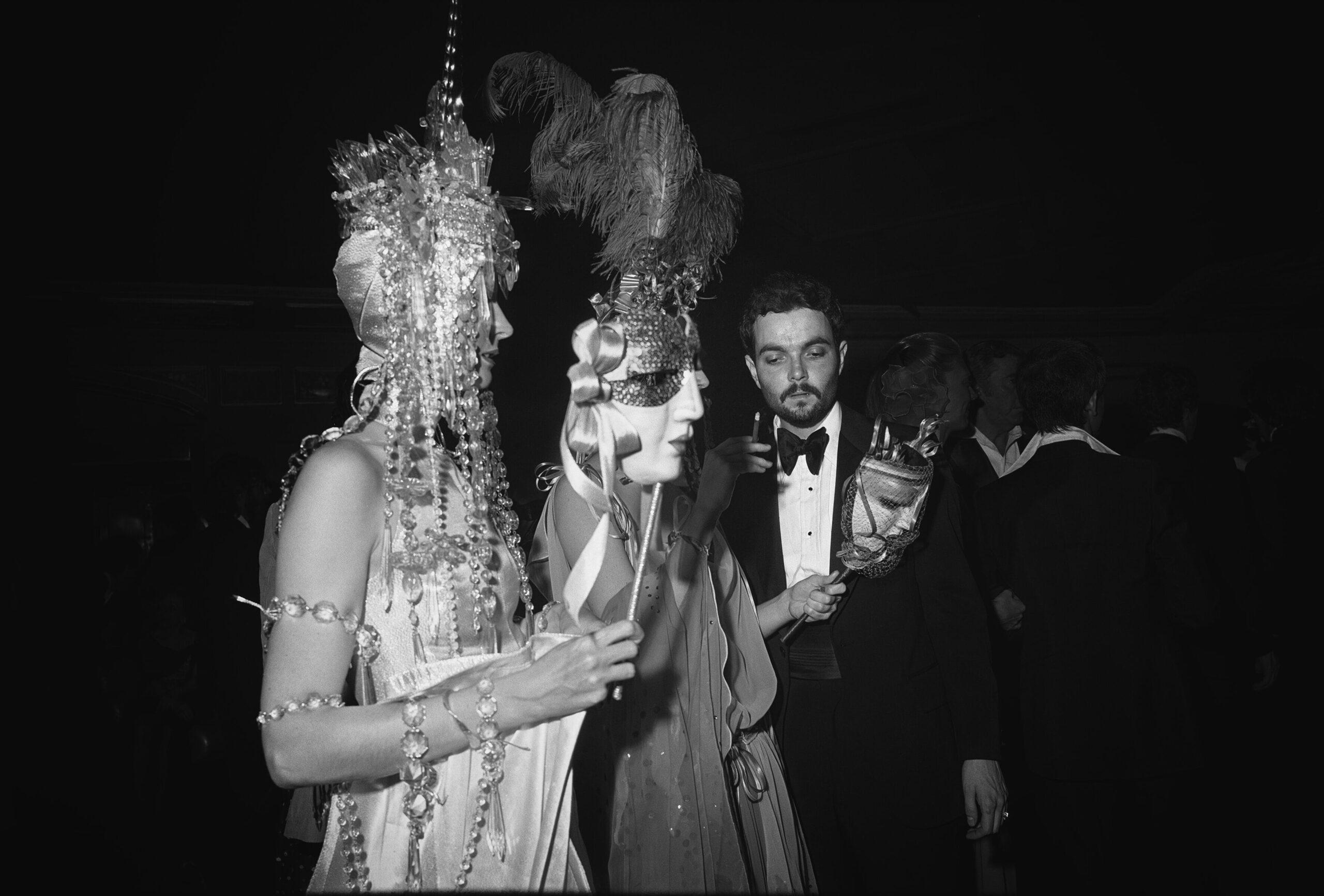 """Imagen que ilustra el artículo """"Fotografía insomne"""". Es de Tod Papageorge. Studio 54, New York, 1978-80 © Tod Papageorge VEGAP, València, 2021"""