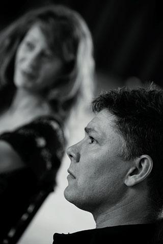Dos actores frente a Bernhard