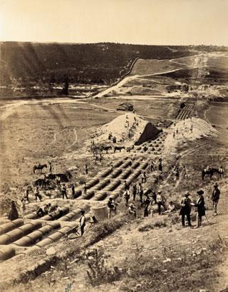 Construcción del canal de Isabel II