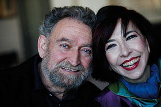 Llorenç Barber y Fátima Miranda