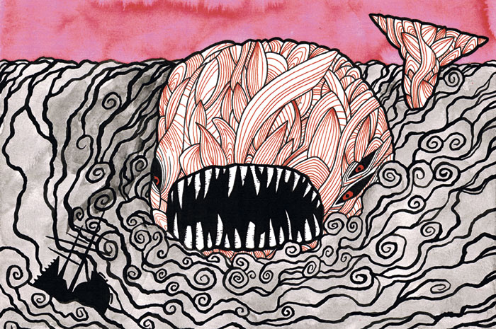 La gran ballena blanca