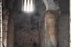 Espagne, Près Ovedio, San Miguel de Lillo, le transept (1 X eme S.)