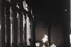 Espagne, Oviedo, Un coin du cloître Gothique de la Cathédrale