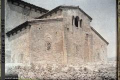 Espagne, Oviedo, L'Abside Romane de la vieille Eglise de Santullano