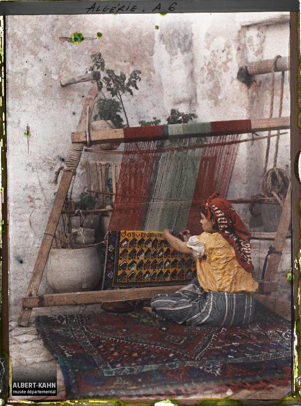Alger, Fabrication de tapis