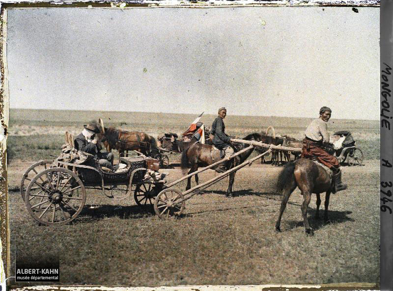 Mongolie, La poste mongole