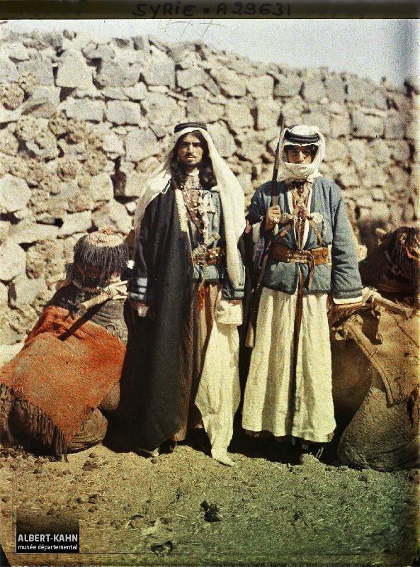 Syrie, Tell-Es-Shehab, Deux types du Hauran