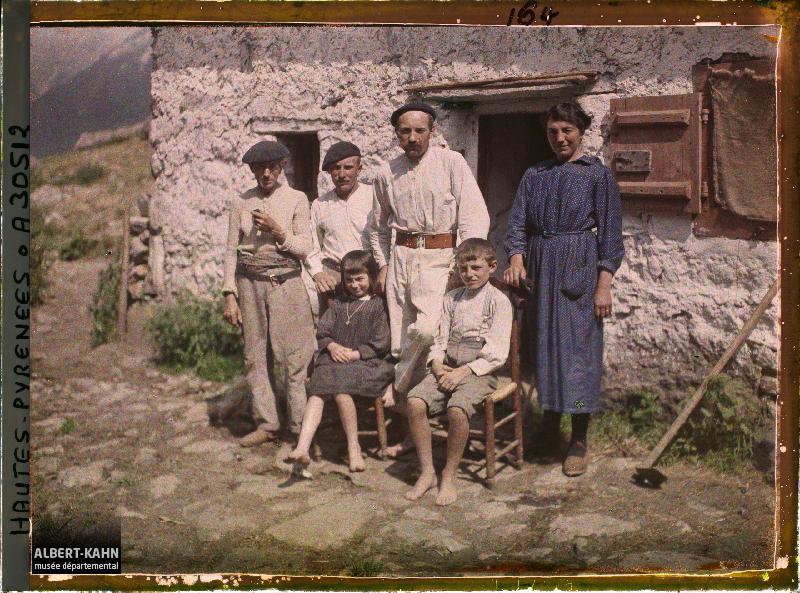 Vallée de Cambasque, groupe de Paysans