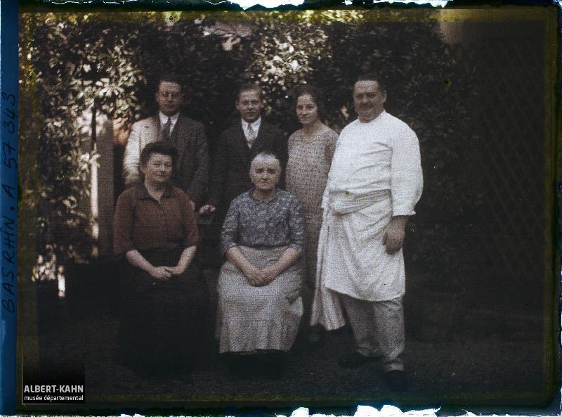 Alsace, Saverne, Famille Fischer