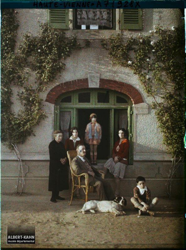Haute-Vienne (?), France, mai 1929 (?), (Autochrome, ), Stéphane Passet (?), Département des Hauts-de-Seine, musée Albert-Kahn, Archives de la Planète, A 71 928