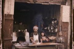 Egypte, Minieh, Boutique de cuisinier (Fellah)