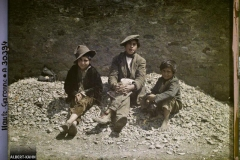 France, Bagnères de Luchon, Trois petits Espagnols
