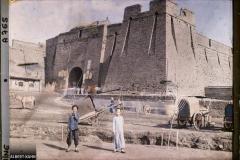 Chine, Moukden, La muraille d'enceinte