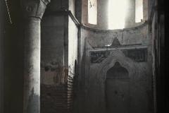 Grèce, Salonique, L'intérieur de la vieille mosquée enterrée