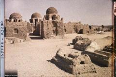 Egypte, Assouan, Ancien cimetière musulman, tombeaux des Cheiks