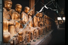 Py-Yen-Seu, Une galerie du temple des 580 Bouddhas
