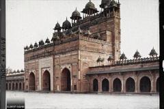 Indes, Fatehpour-Sikri, Entrée du Palais vue intérieure