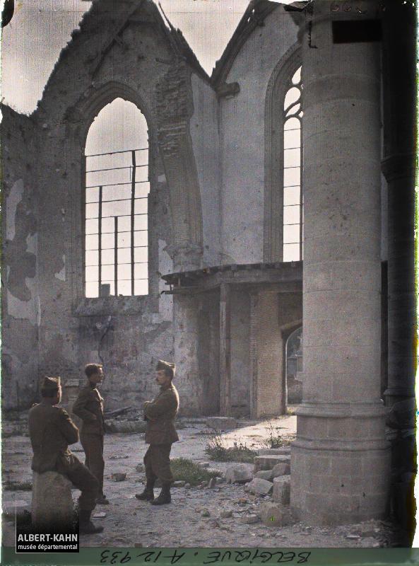 Belgique, Loo, L'Eglise, Intérieur