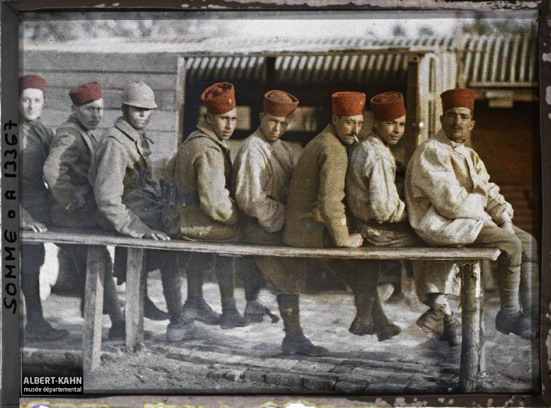 France, Royglise, Groupe de Tirailleurs Algériens