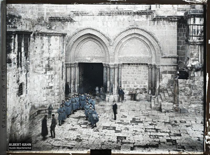 Syrie, Jérusalem, Ensemble de la façade du St Sépulcre