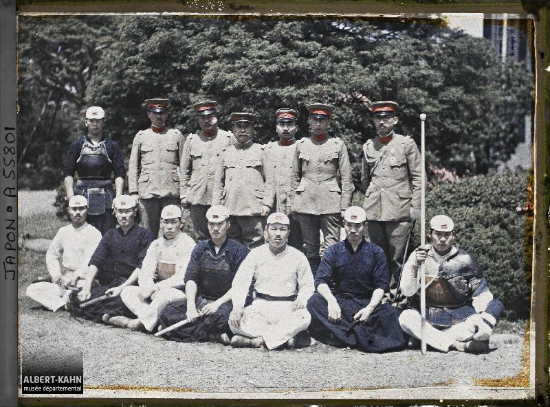 Japon, Tokyo, Groupe d'Officiers et d'instructeurs