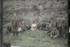 Serbie, Belgrade, Groupe d'Arméniens prisonniers tous Chrétiens (Citadelle de Belgrade)