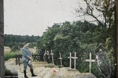 France, Ricquebourg, Tombes de Soldats à Ricquebourg.