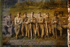 France, Quesmy, Groupe de forestiers Canadiens