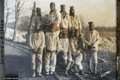 France, Ham, Tirailleurs Sénégalais au travail