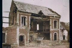 France, Orvillers Sorel, Guerre: La grande rue d'Orvillers