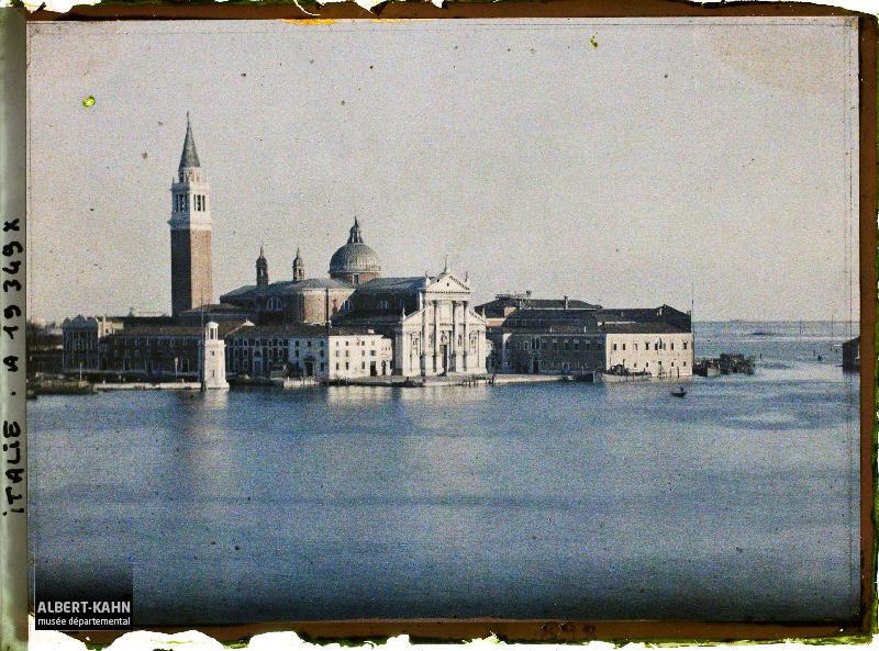 Italie, Venise, Ile St Georges
