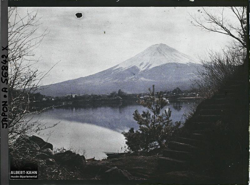 Japon, Yoshida, Lac de Nemba, paysage