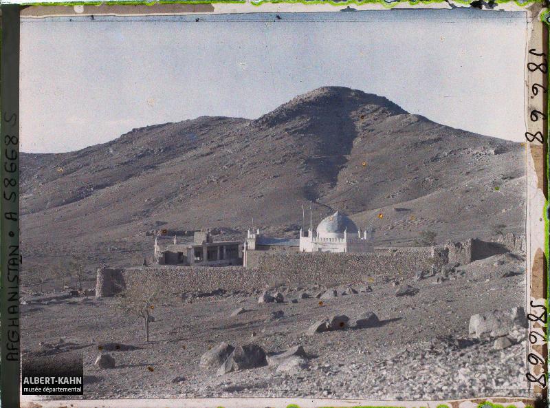 Afghanistan, kaboul, Vue sur la Mosquée Chiite