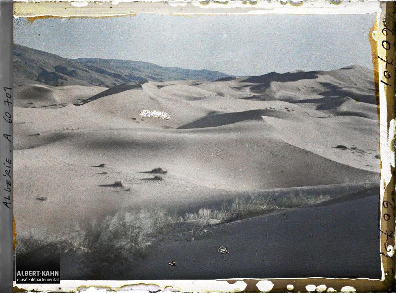 Algérie, Aïn-Sefra, La Grande Dune au Soleil Couchant