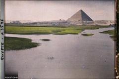 Egypte, Le Caire, Paysage s/la route