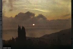 Mont Athos, Karyès, Levers de Soleil à Karyès