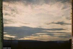 France, St Cloud, Coucher de Soleil sur les hauteurs de St Cloud
