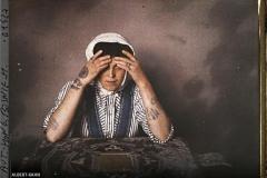 Bosnie, Sarajevo, Tatouage des bras de la femme catholique